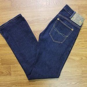 Ralph Lauren Denim Dark Jeans sz 27 Tribeca 114